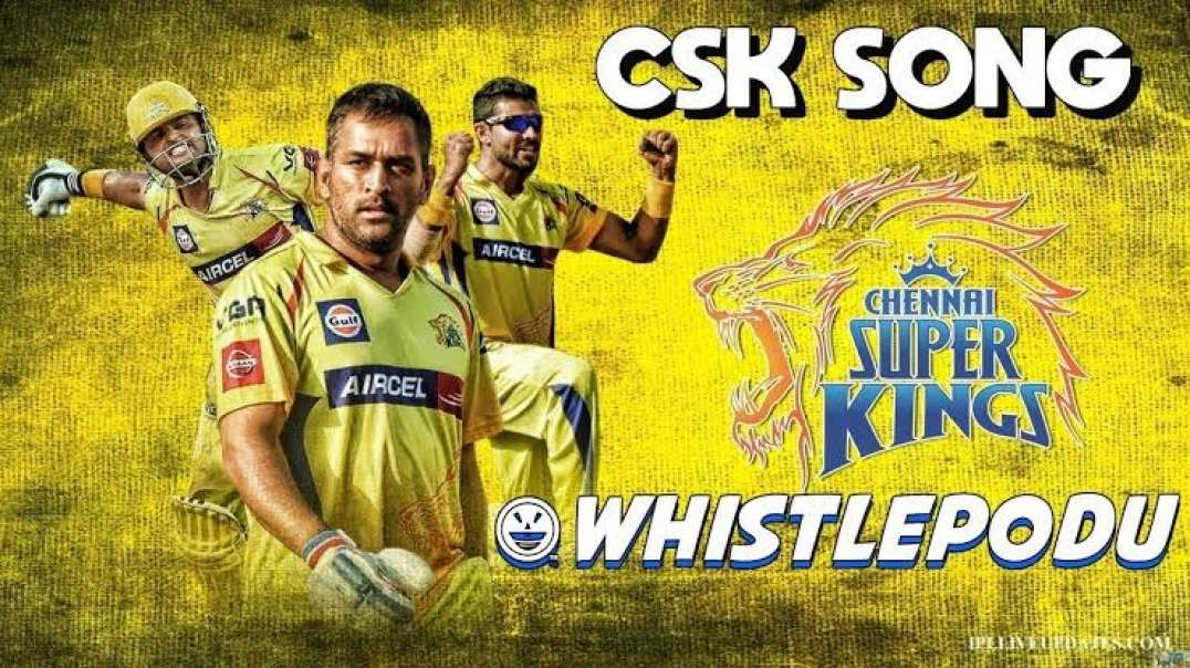 CSK | Whistle Podu | Tamil WhatsApp Status | BGM | Fan Base Status Video | Music Status